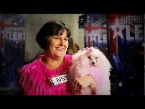 Australia's Got Talent 2012 - Loretta and Chloe Dog