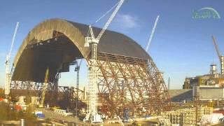 Budowa NSC w Elektrowni Czarnobylskiej