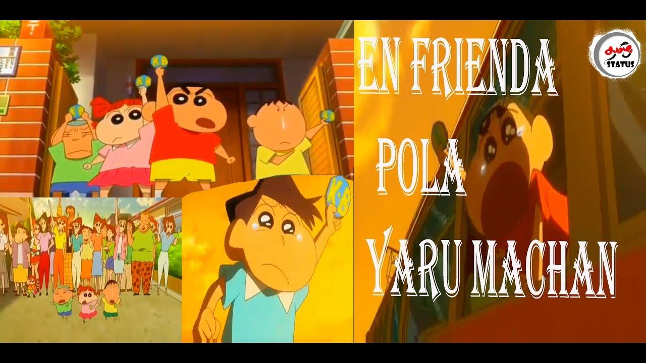 Download En frienda pola yaru machan-nanban|friends day special video shinchan version💖|shinchan voice|