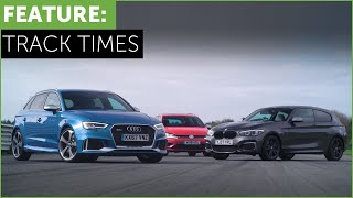 What's the fastest hot hatch on track? BMW M140i? Audi RS3? VW Golf R? w Tiff Needell