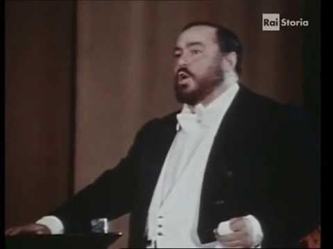 Luciano Pavarotti - Celeste Aida - New York 1981