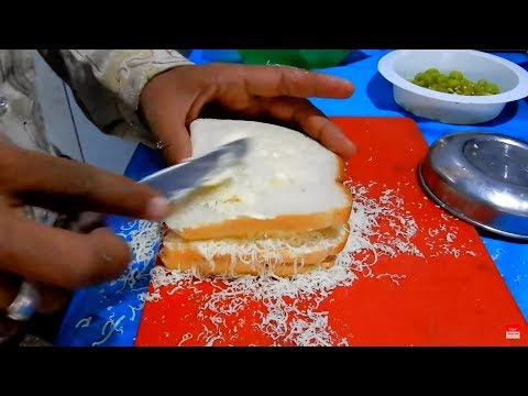 Craziest Cheese Sandwich Making | Indian Fast Food at Street Rajkot