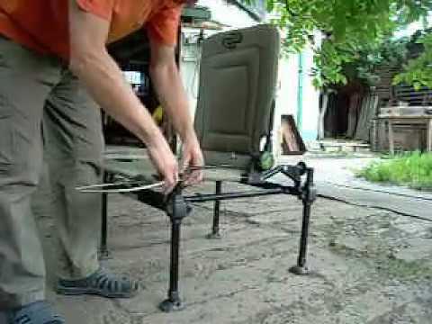 Fishing Roving Chair Gym In A Кресло для рыбалки Korum | Doovi