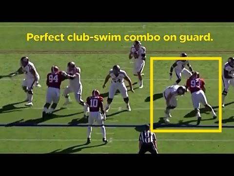 Film Room: Jonathan Allen, DE, Alabama Scouting Report (NFL Breakdowns Ep 60)