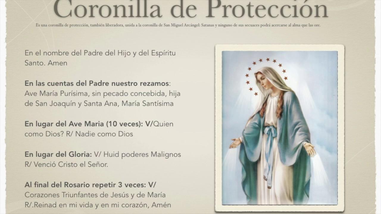 Coronilla De Proteccion