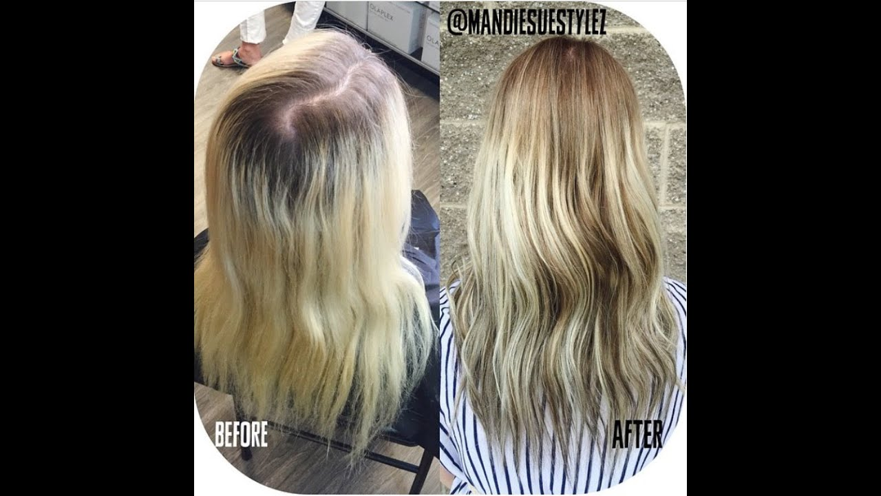 Sombre Class At Salon Centric Redken Chromatics Amp Olaplex