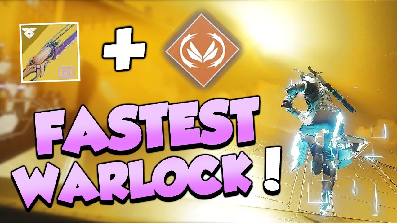 How To Become The Fastest Warlock In Destiny 2! thumbnail