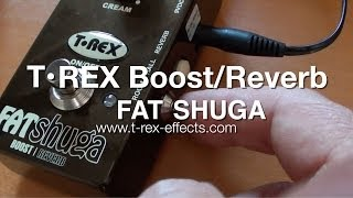 T•Rex: FAT SHUGA Boost & Reverb - DEMO