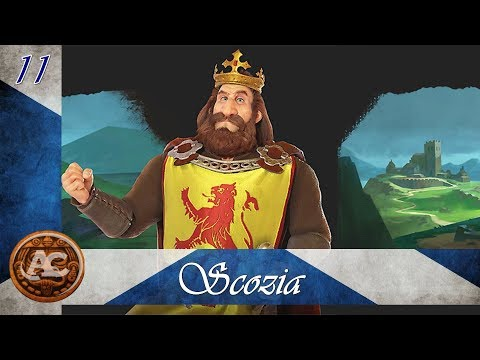 Civilization 6 Rise and Fall - Robert The Bruce #11 (Gameplay ITA)