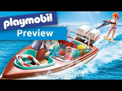 Playmobil 9428 Motorboot Mit Unterwassermotor Youtube