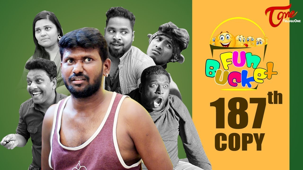 Fun Bucket   187th Episode   Funny Videos   Telugu Comedy Web Series   Harsha Annavarapu   TeluguOne