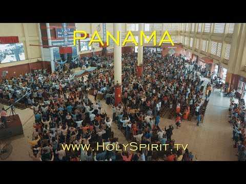 Fire of the Holy Spirit falling in Panama!