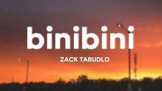 Zack Tabudlo - Binibini (Lyrics)