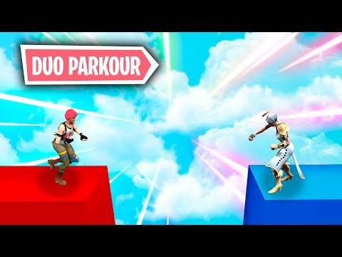 *NUEVO PARKOUR Y PUZZLE EN DUO* FORTNITE PARKOUR