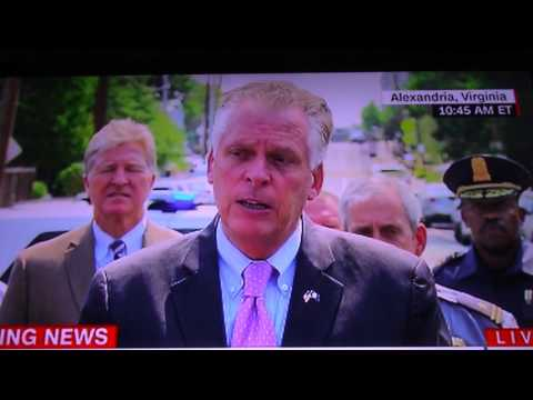 """93 MILLION AMERICANS A DAY KILLED BY GUNS""-Terry McAuliffe"