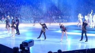 """Art on Ice 01.03.2014 (Eveningshow), Finale to """"Euphoria"""" with LOREEN"""