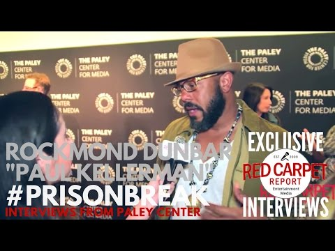 Rockmond Dunbar ed at FOX's Prison Break S5 Paley Center Event & Panel