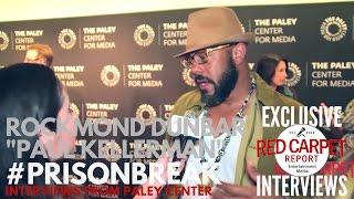 Rockmond Dunbar interviewed at FOX's Prison Break S5 Paley Center Event & Panel