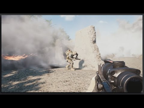 US Search and Destroy Squad - Cinematic 40v40 Squad Gameplay