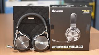 Corsair Virtuoso RGB Wireless SE Gaming Headset Review