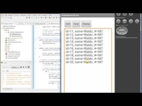 SQL Lite Database: Android Programming