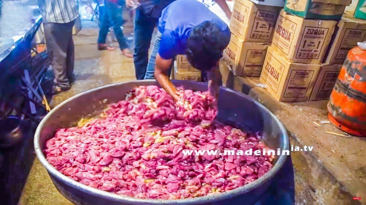 Hyderabadi Pathar Ka Gosht   popular lamb dish   Prepared in Hyderabad Only   Hyderabadi Street Food