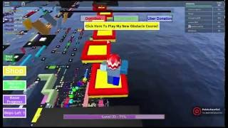 Lets Play ROBLOX Part 7 Mega Fun Obby 337-364