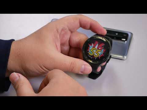 Умные часы Huawei Watch GT2e - новый дизайн, старые функции