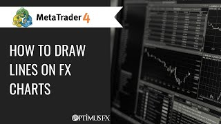 MetaTrader MT4   How to Draw lines on FX charts