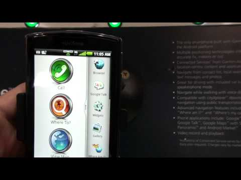 Garmin-Asus Nüvifone en el MWC 2010