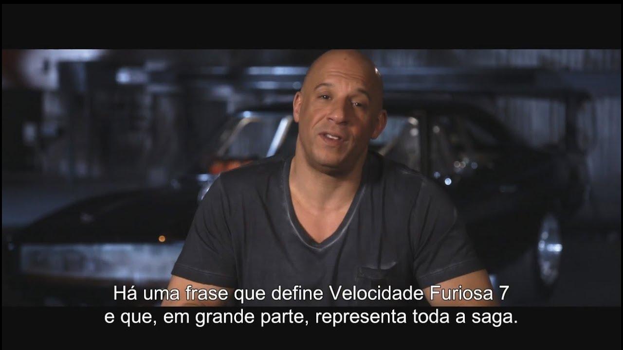 """Frases Sobre Arrogância E Prepotência: """"Velocidade Furiosa 7"""" - Bastidores (Portugal)"""