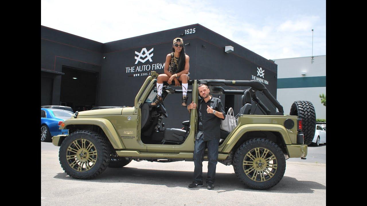 2013 Avorza Jeep Wrangler Street Edition Done For Teyana