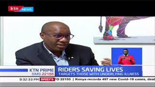 Riders Saving Lives: Bodaboda riders delivering medicine; They target people with underlying illness