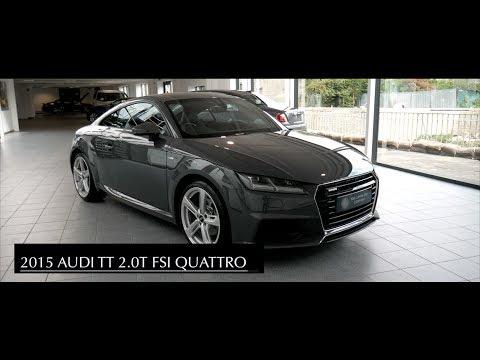 Audi TT Quattro S-line 2.0T - Interior and Exterior Walkaround