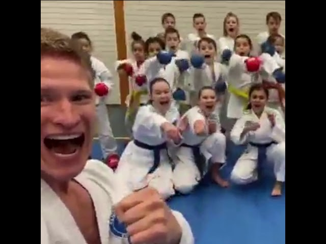 KARATE - Rene Smaal wishes you happy holidays