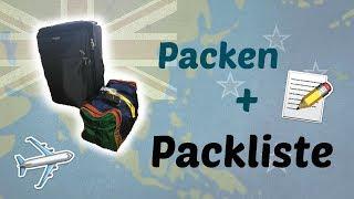 Pack-Video + Liste #5  Auslandsjahr Neuseeland 17/18