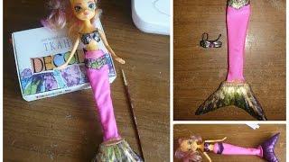 Русалка - делаем сами своими руками!(Мастер Класс Шьем для куклы хвост русалки, красивый бюстгальтер. Обозначения; Ст- полу обхват талий, Сб-..., 2015-04-22T04:15:39.000Z)