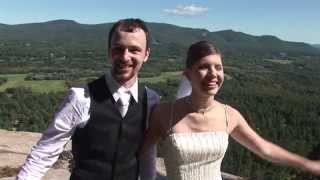 Wedding Video | Cathedral Ledge - The Climb | WeddingVideoZ.com