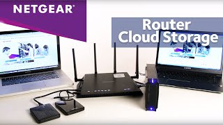 How To Add Storage To Your NETGEAR WiFi Router | ReadySHARE Cloud Storage