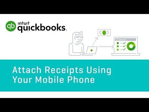 How to Attach Receipts Using Your Mobile Phone | QuickBooks Online US Tutorial 2018