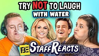 Download Try To Watch This Without Laughing or Grinning With Water #14 (ft. FBE Staff) Mp3 and Videos