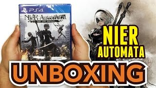 nieR : Automata (Day One Edition)(PS4) Unboxing !!
