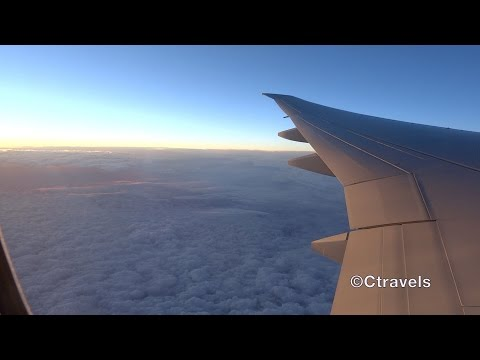 SWISS Montreal to Zurich B777-300 Economy class [Full HD]
