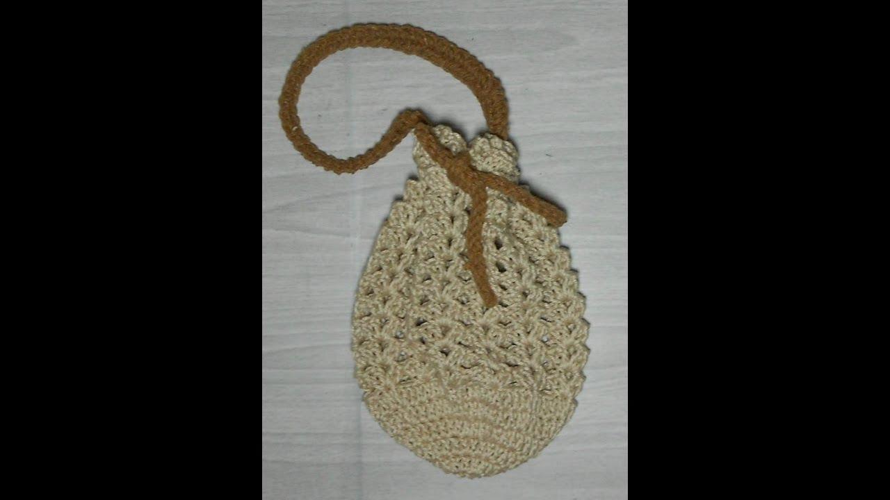 Bolsa De Festa Em Croche Passo A Passo : Hilda eroles v?deo parte bolsa de m?o dona