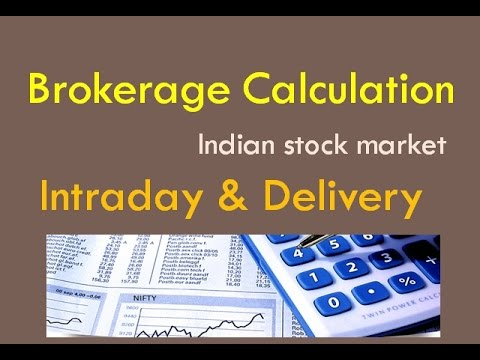 Brokerage calculation hidden charges stock market