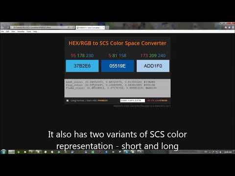 American Truck Simulator - HEX/RGB to SCS Color Converter/Decoder