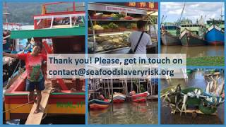 Seafood Slavery Risk Tool Update