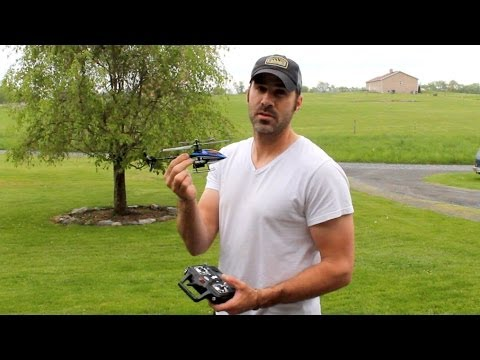 RSI Extreme Stunt Helicopter - Outdoor Flight (Syma F3)