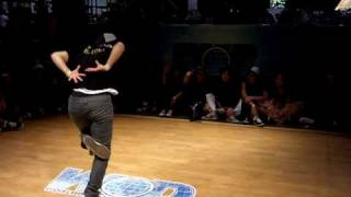Bgirl Bonita vs Bgirl Peppa WOD World of Dance 2010
