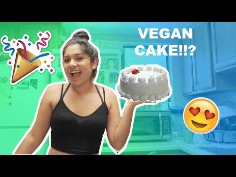 Baking a VEGAN CAKE!!! |Soda Hack (GONE WRONG)